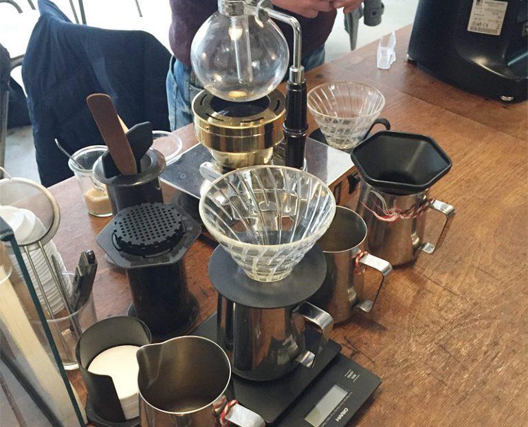 Kaffeebar - Brewbar bei ernst kaffeeröster in köln