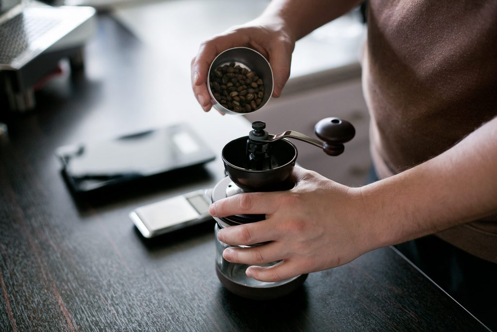 fehlt in keiner kaffeebar - die mühle