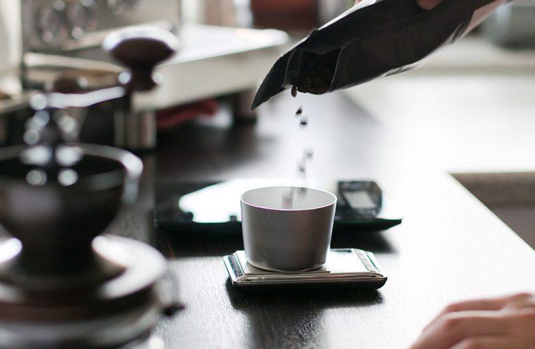v60 Kaffee portionieren
