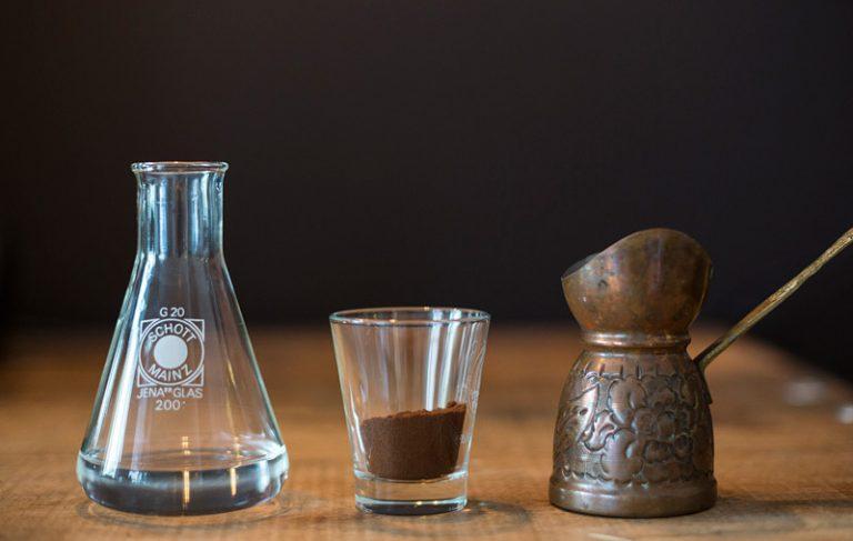 ibrik Kaffee kochen zutaten