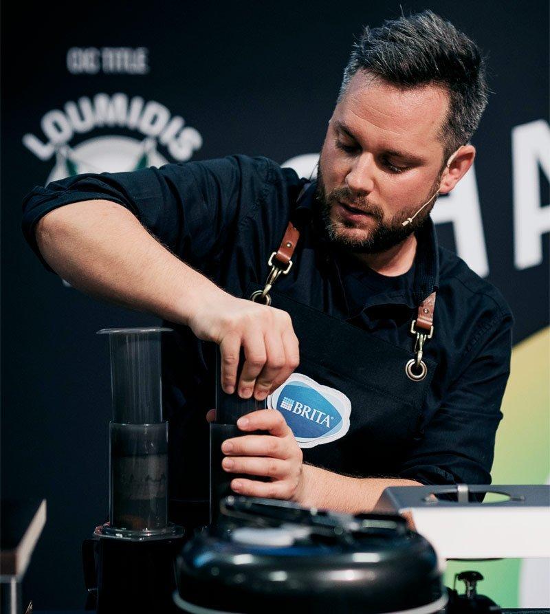 Kaffeemeisterschaft Sinan Muslu WM