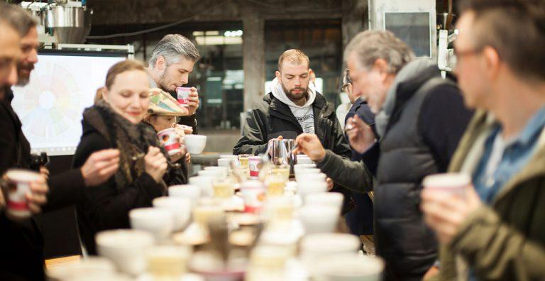 Kaffee Cupping