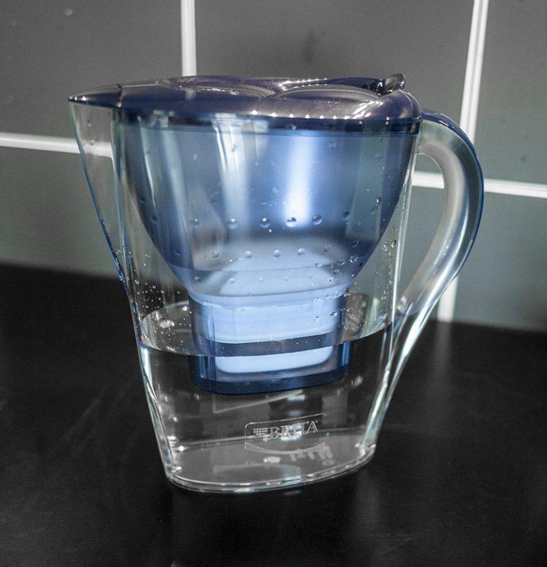 gefiltertes Wasser ist perfekt für Filterkaffee