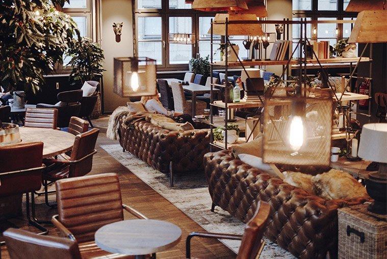 Espressohouse Hamburg gemütlich