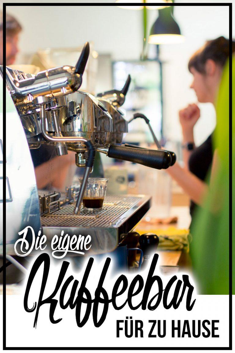 Kaffeebar für zu Hause